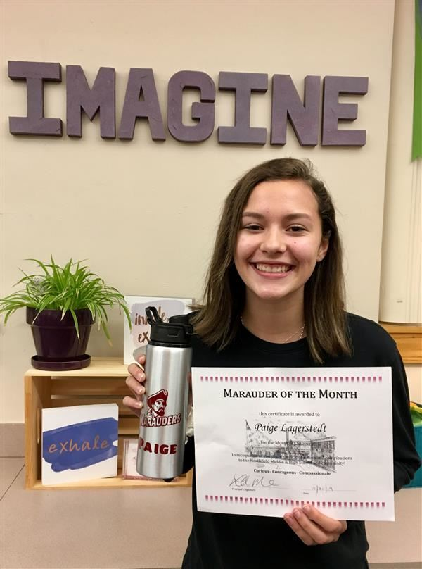 Paige Lagerstedt the Marauder of the Month - October 2019